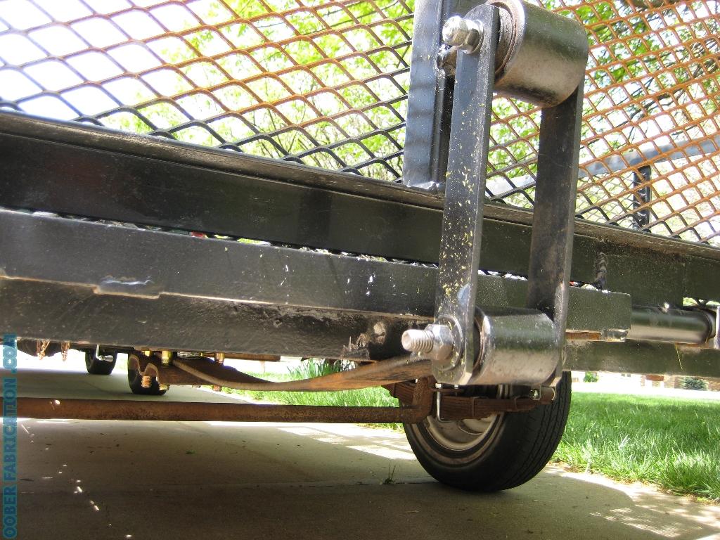 Self Lifting Trailer Tailgate DIY METAL FABRICATION com
