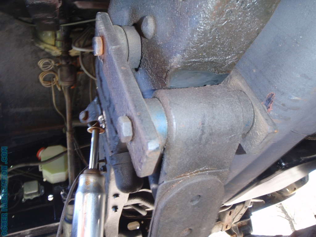 Ol Blue 71 Chevy New Front Suspension With Leaf Spring