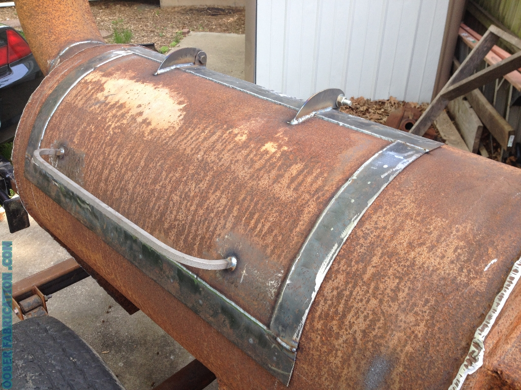 BUILDING THE OOBER BBQ SMOKER PART 4 DIY METAL FABRICATION