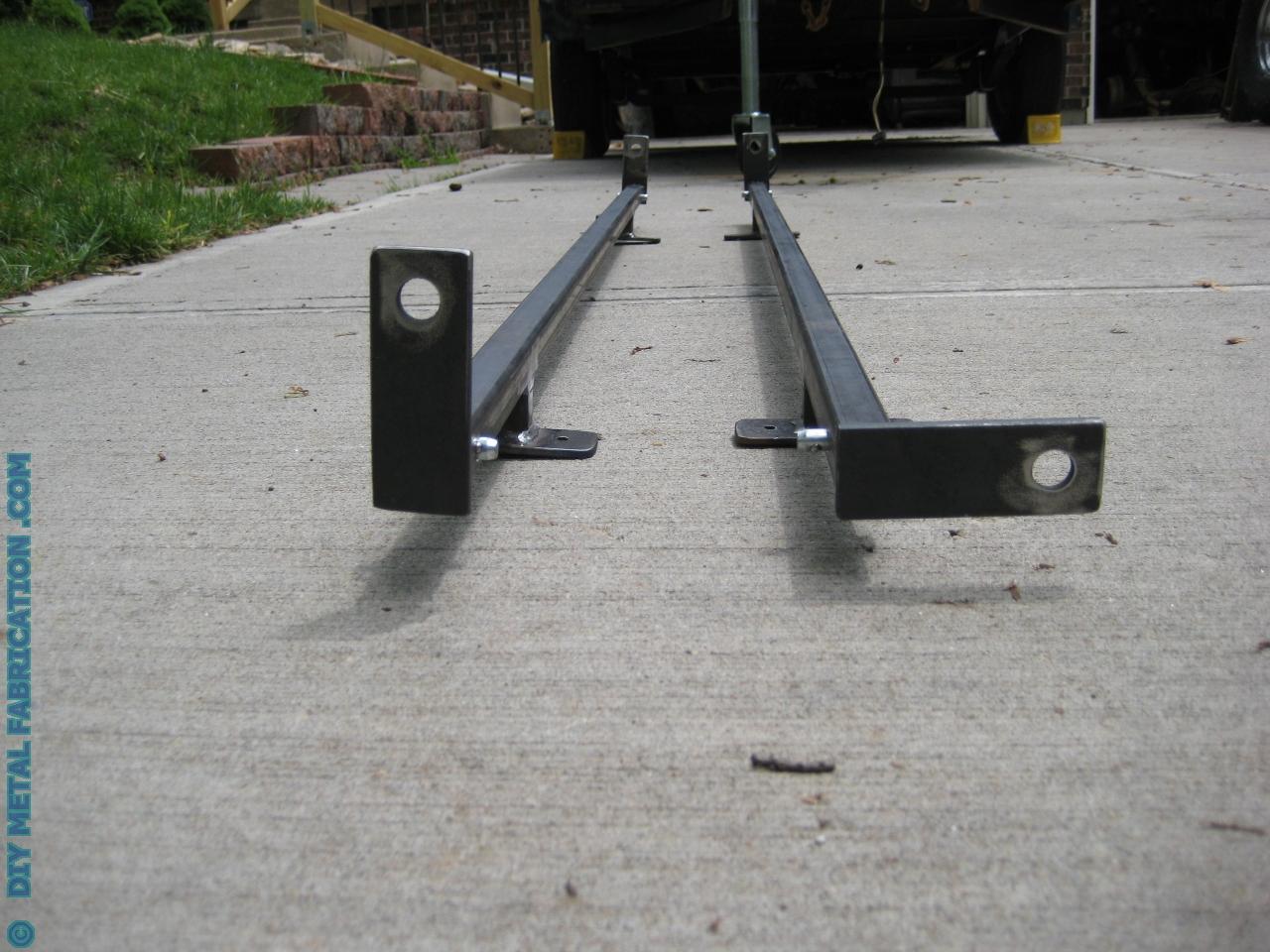How To Build Suv Ladder Roof Rack Diy Metal