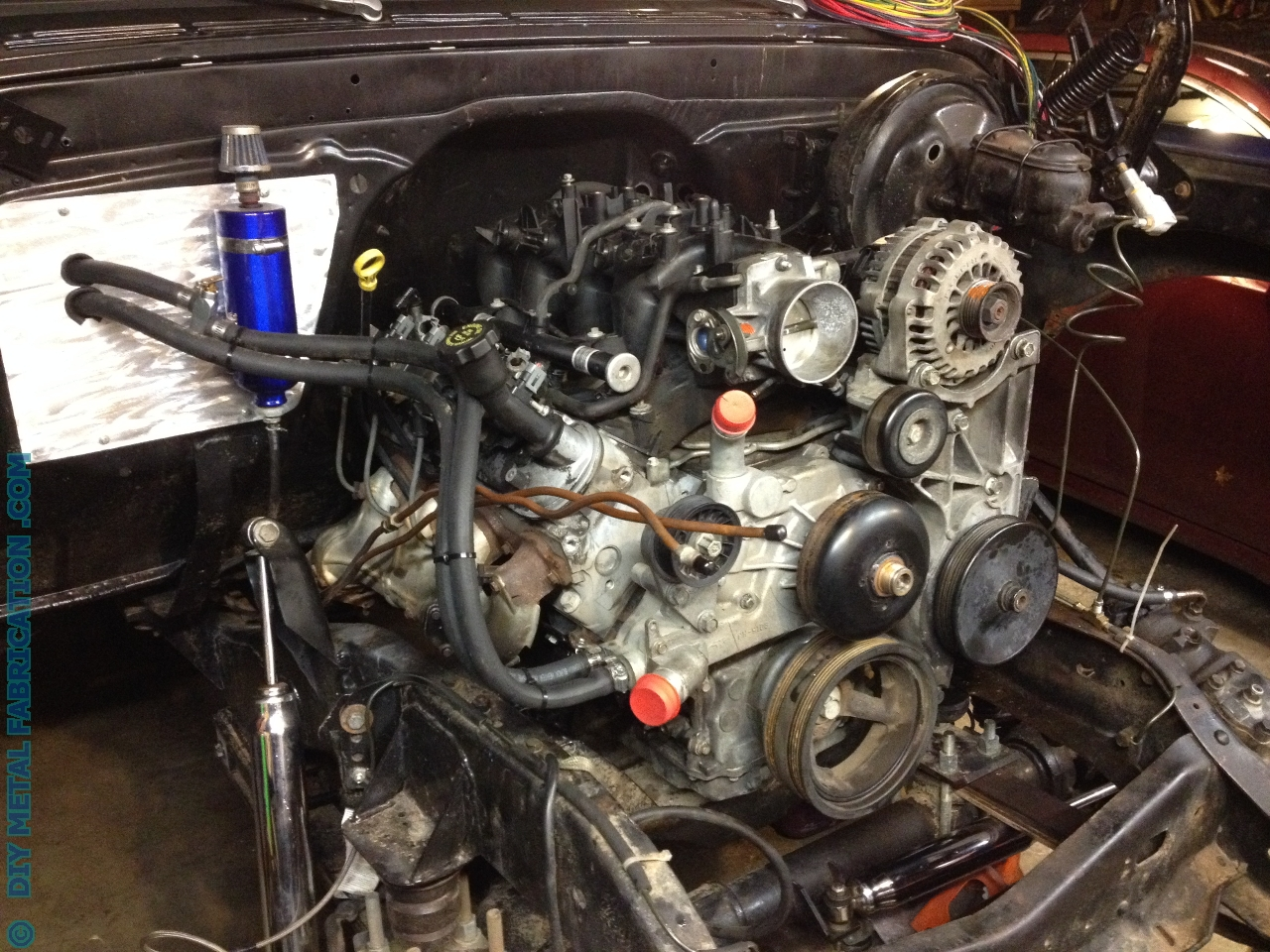 5 3 Swap Into A Chevy C10 With Pictures on 68 camaro wiring layout