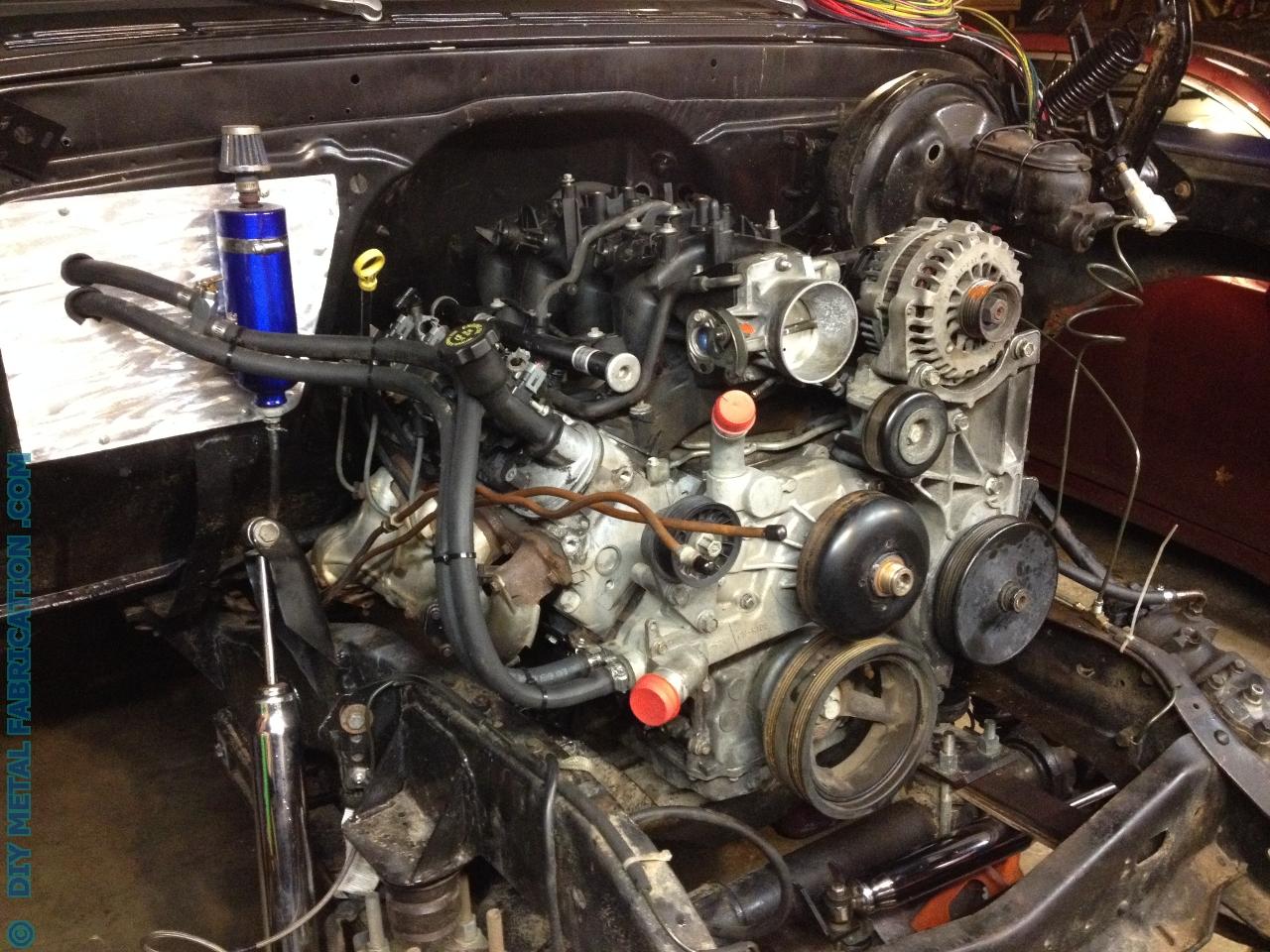 Truck 71 chevy truck parts : 5.3 LS Engine Swap into Ol' Blue 1971 Chevy Truck Part 4 – DIY ...