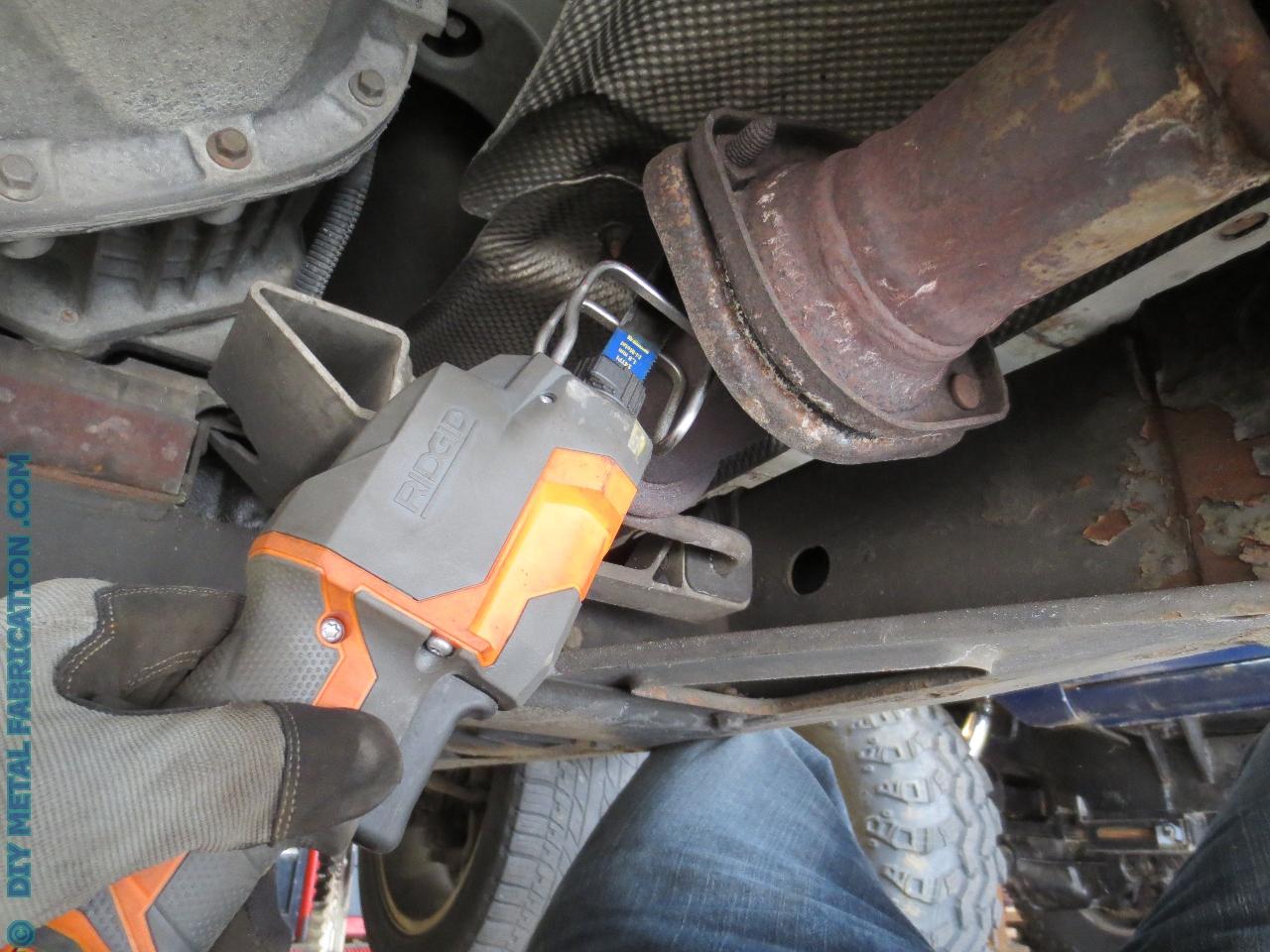 DIY Exhaust Fix – Reattaching a muffler – DIY METAL ...