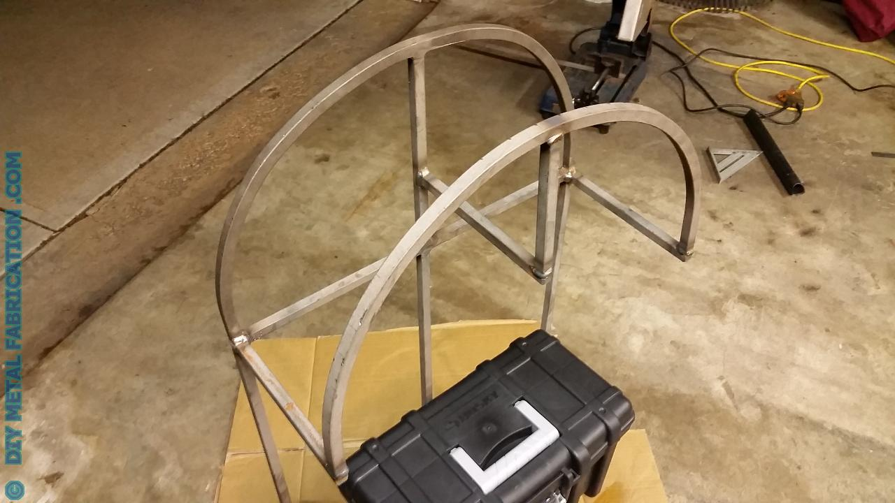 DIY Garden Hose Holder with Storage – DIY METAL FABRICATION .com