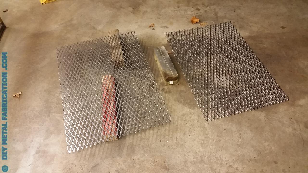 Diy A C Unit Cage Part 2 Diy Metal Fabrication Com