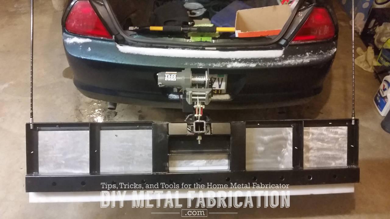Adjustable Hitch Receiver >> DIY Receiver Hitch Snow Plow – Part 4 – DIY METAL FABRICATION .com