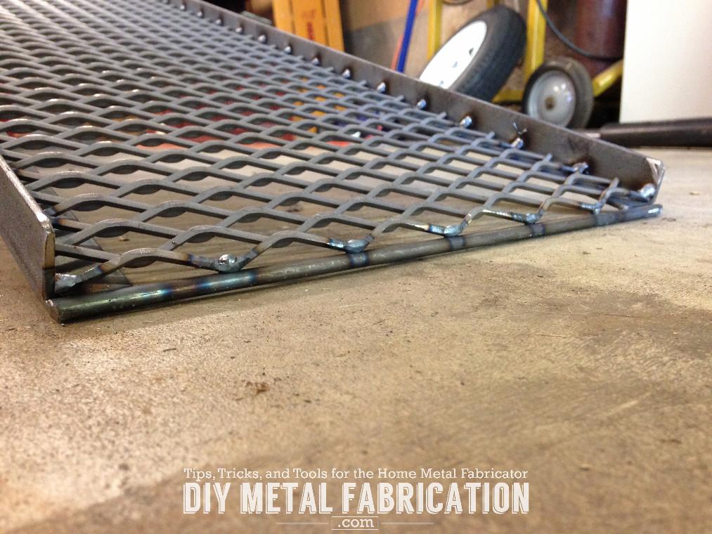 Metal Projects To Build : Diy wheelchair transfer platform part metal