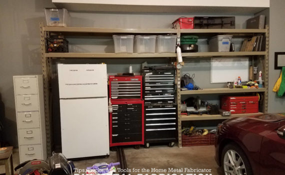 DIY Metal Fabrication Moving U0026 New Garage Shelves