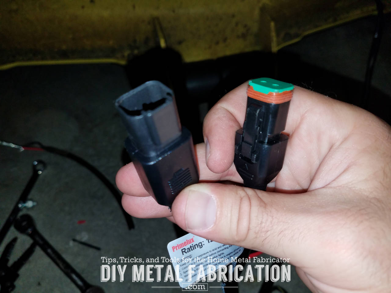 DIY Zero Turn Headlight Installation Guide – DIY METAL