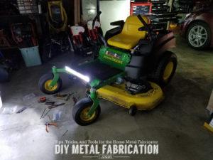 Diy Zero Turn Headlight Installation Guide Diy Metal