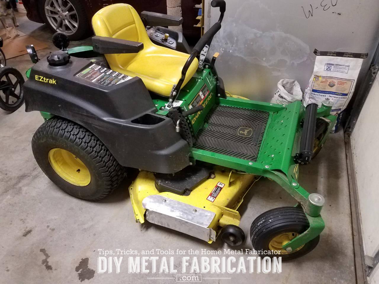 Diy John Deere 54 Zero Turn Mulch Plug Diy Metal
