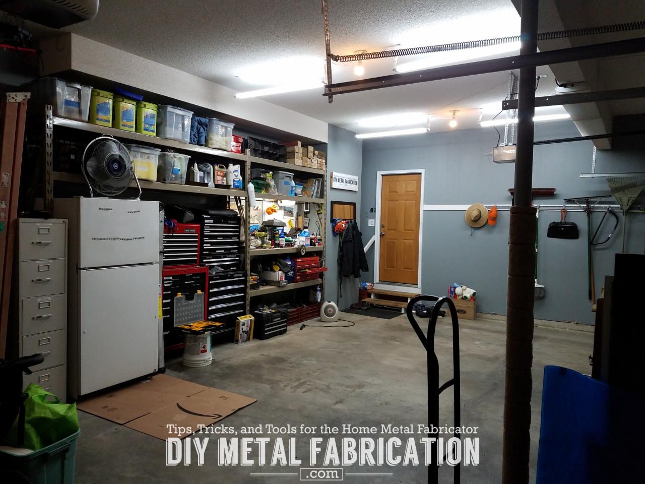 Diy How To Install Led Garage Lighting Diy Metal