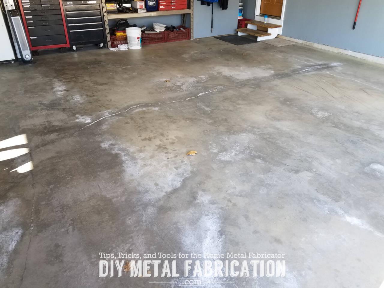 Diy How To Seal Garage Floor Diy Metal Fabrication Com