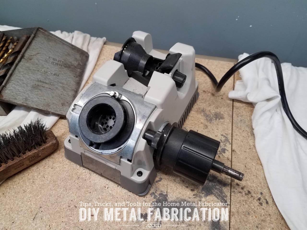 Tools Of The Trade Drill Doctor Bit Sharpener Diy Metal